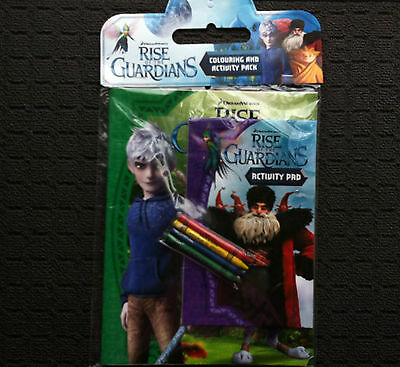 RISE OF THE GUARDIANS COLOURING & ACTIVITY PACK Childrens Adventure Book (2012)