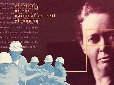 1996 Australia Centenary of the National Council of Women