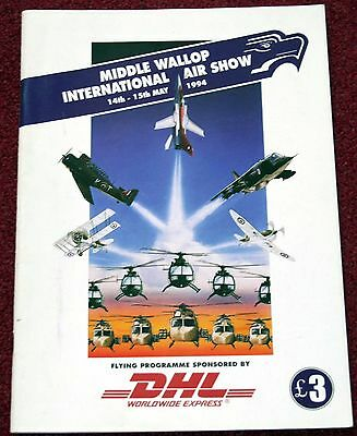 Middle Wallop 1994 Airshow Programme
