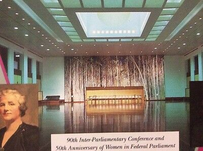 1993 Australia 90th Iner-Parliamentary Conference and 50th Anniversay of Women