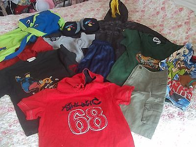 Boys Bundle Of Clothes Age 6 - 7 - 8 Years