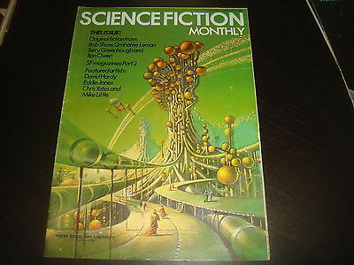 SCIENCE FICTION MONTHLY Vol. 1 #4   New English Library Tabloid 1974 FN