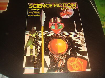 SCIENCE FICTION MONTHLY Vol. 1 #5  New English Library Tabloid 1974 FN