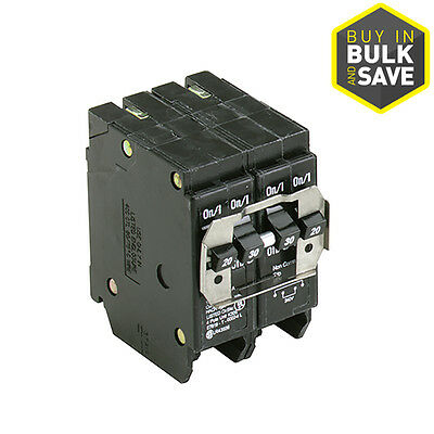 Eaton Quad Circuit Breaker Type BR 30.0 Amp 4 Pole Independent Trip Electrical