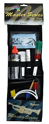 Premium 6 Piece TRUMPET CLEANING CARE KIT & Carry Case Made In USA