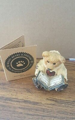 Boyds Bears and Friends...Wilson with Love Sonnets..in box
