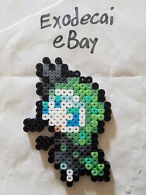 Meloetta Aria Form Pokemon Bead Sprite Perler Art Menu Icon