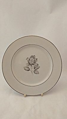 "Rare Belcrest Bavaria Krautheim Whispering Rose 7 7/8"" Salad Plate (s)"