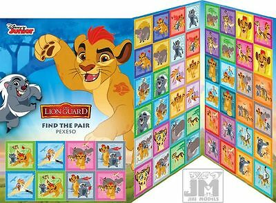 Memory Game Pexeso The Lion Guard (Lion King) Disney Junior (Find the pair!)