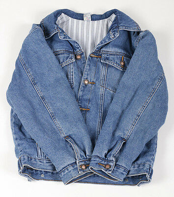 Kids M Vintage Denim Jacket Used Preloved  (X12)