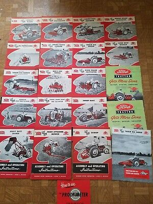 Original Ford Tractor Dearborn Manuals For Ford 8n