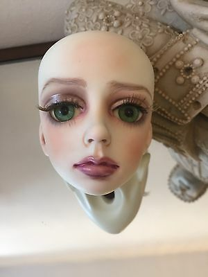 Bjd  Doll Dollstown Retired Sia Head With Nightshade Dolls Face Up