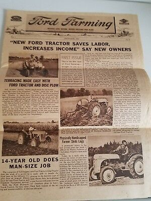 Original Ford Tractor, Ford Farming Newsletter  Ford 8n
