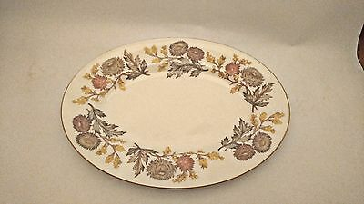 "Very RARE - SMALL Wedgwood Lichfield W4156 11"" Oval Serving Platter"