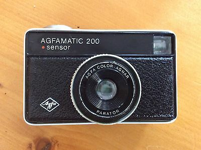 Agfa Agfamatic 200, 35mm Camera, Vintage, Retro,