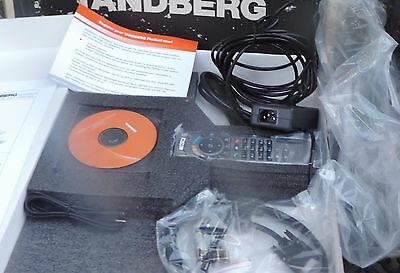 Tandberg 1000 Ttc7-12 Elite Video Conference Telephone Nib Paperwork  Remote