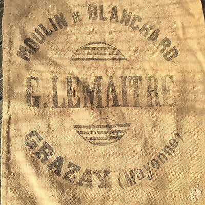 Original1926 French Grain Sack