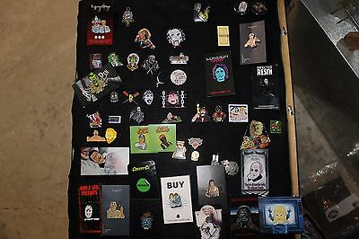Horror lapel pin collection/pins/enamel pins/Jason Voorhees pins