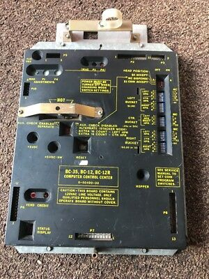 Used Rowe Change Machine Bc-35 Bc-12 Bc-12r Computer Control Center For Parts