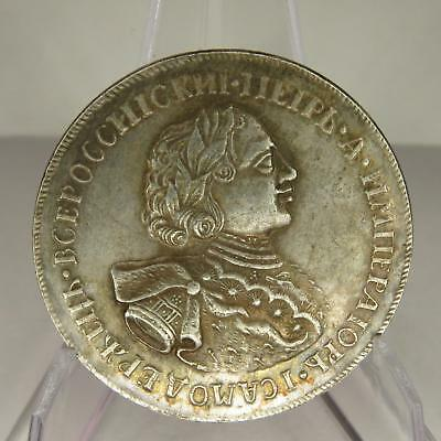 Russia Russian Peter 1 The Great Moheta Medal Coin F17