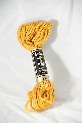Anchor Tapisserie Wool-Laine 10m Tapestry Wool Colour 8060 Autumn Gold
