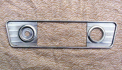 1960 1961 1962 1963 1964 Chevy Corvair Delco Radio Face Plate Bezel Hot Rat Rod