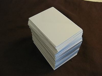 "(100) Dye SUBLIMATION White / Aluminum end-cut BLANKS * 2+"" by 2 7/8"""