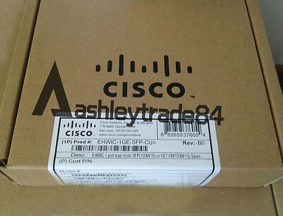 Brand New EHWIC-1GE-SFP-CU Cisco High-Speed WAN Interface Card Fast Ship