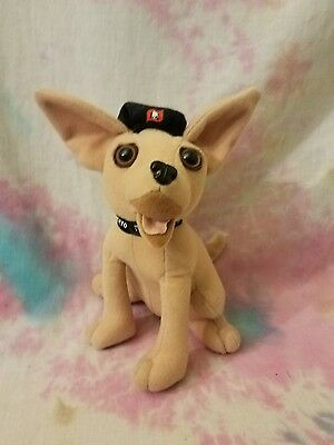 Taco Bell Chihuahua Talking Plush Toy Applause 1998 Yo Quiero Viva Gorditas