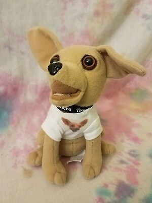 Taco Bell Chihuahua Talking Plush Applause 1998 Yo Quiero How Cool Is This