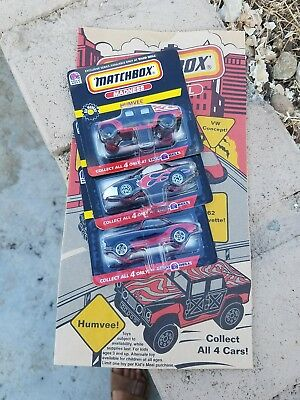 Taco Bell Exclusive Series Matchbox Madness Vehicles + Bonus Kids Meal Bag