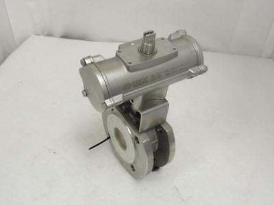 """159046 New-No Box, Omal A0445X09 Actuated/Flanged Ball Valve SS, 1-7/8"""" ID"""