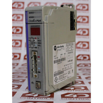 Allen Bradley 1769-SDN DeviceNet Scanner for MicroLogix & CompactLogix - Used...