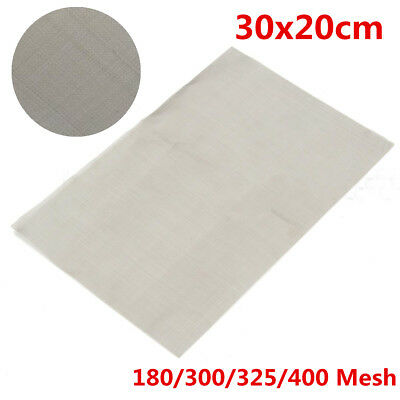 30cmx20cm Various Wire Mesh Stainless Steel Woven Wires Sheet Filter Metal Silk