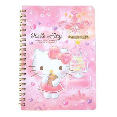 Sanrio Hello Kitty Spiral Notebook with Pen Holder Loop Registered Shipping