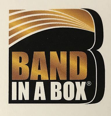 Band in a Box Pro Music Accompaniment Software for Windows
