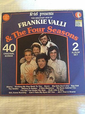 The Greatest Hits of Frankie Valli and the Four Seasons record LP 2 records