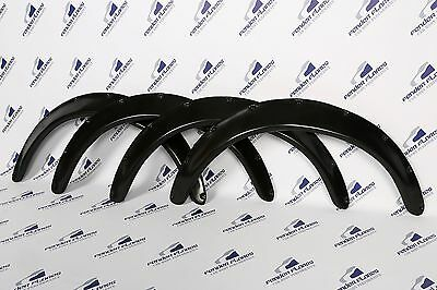JDM Fender Flares 2.4'' Wide body Universal wheel arch extensions SET 4 Pieces