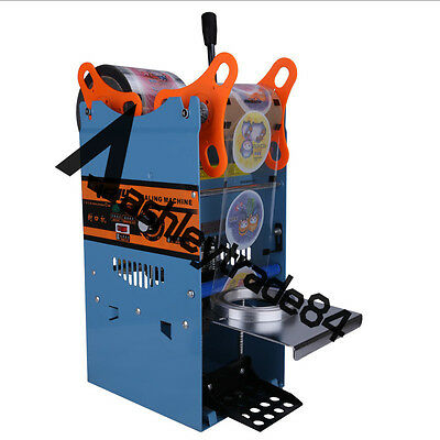 Wy-802F Tall-Cup Sealing Machine 220V Manual For Bubble Tea/ Fruit Juice