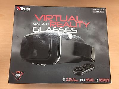 Trust GXT 720 VR Gaming Headset Virtual Reality 3D Glasses for Smartphones Black