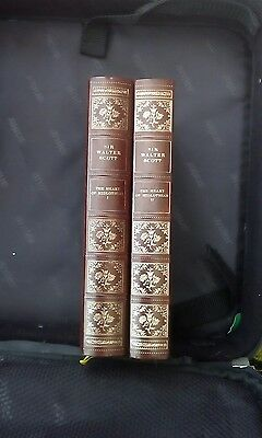 2 Books Sir Walter Scott  (  The Heart of Midlothian I & II )