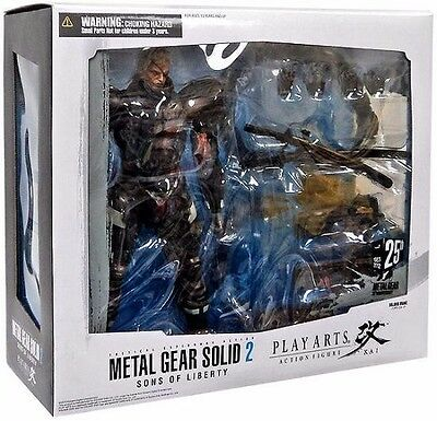 Metal Gear Solid 2 Play Arts Kai Solidus Snake Action Figur