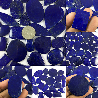 Natural Beautiful Lapis Lazuli Amazing Blue Colour Cab Lot in Wholesale Price