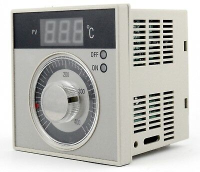 Temperature Controller Pt100 thermocouple K industrial bakery oven 400°C 7A 230V