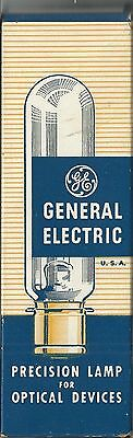 """""""GE"""" General Electric Vintage *PROJECTOR BULB* NEW/UNUSED In Box Ex Condition"""