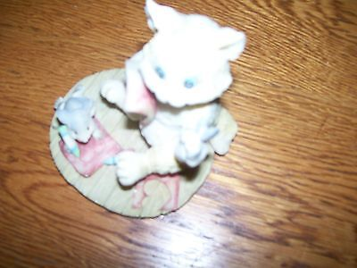 Cat Figurine, Never Been Used Just Stored In Mycurio Cabinet