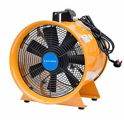 "Dust Fume Extractor/ventilation Fan 8"" (200Mm) Next Day Delivery"