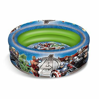Marvel Avengers Inflatable Three Ring Paddling And Ball Pool Kids Free P+P New
