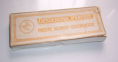 Desdemona Perfect Beste Kunst - Stickseide in OVP vor 1945 !