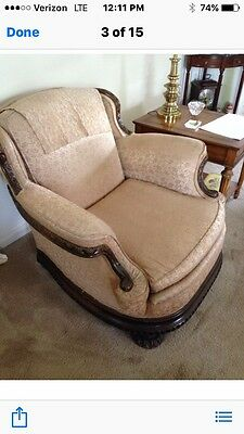 Art Deco Couch And Chair Original Owner!